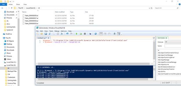 Nav /codecrunch/: How To Convert C/AL To AL
