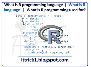 What is R programming language What is R language What is R programming used for