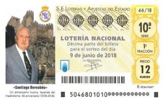 probabilidades lotería nacional de españa