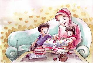 Hukum Ibu Menafkahi Anaknya