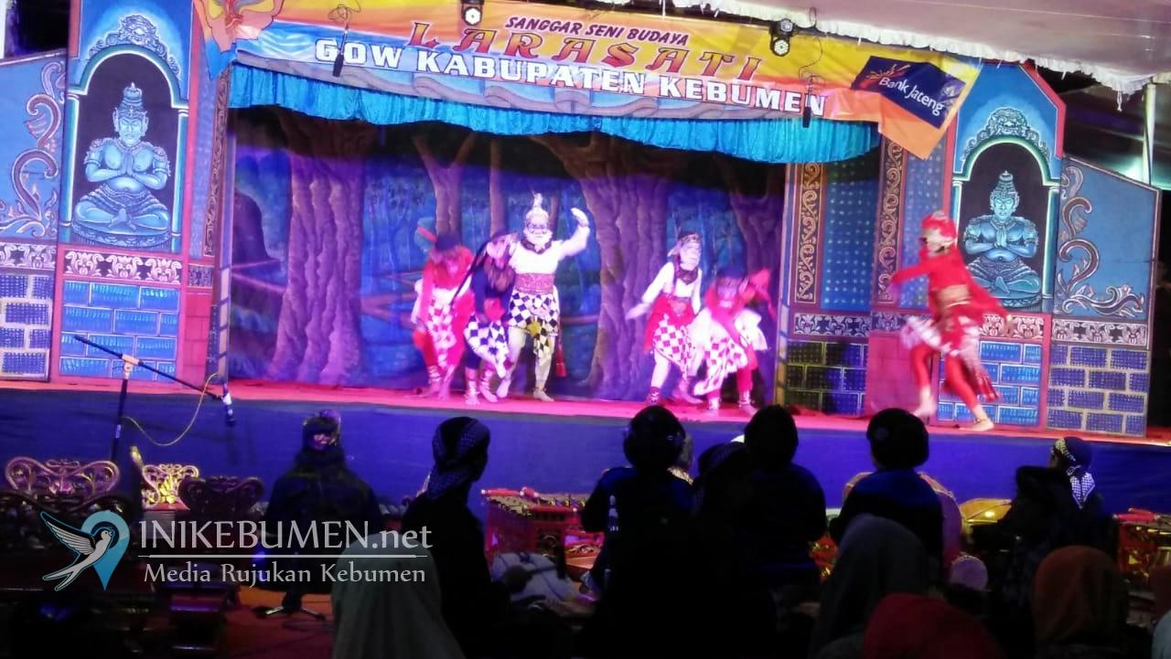"Wayang Orang ""Sinta Obong"" Meriahkan Selapanan Kampung Jawa Kebumen"