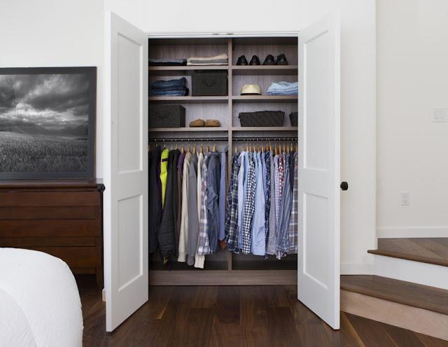 simple bedroom closet design ideas image