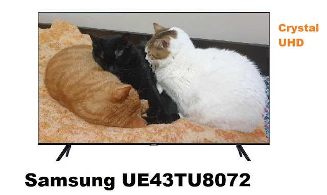 Samsung UE43TU8072 - 4k Crystal Display TV
