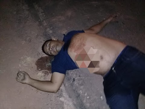 Homem é alvejado à bala na estrada entre Poção de Pedras e Cariri