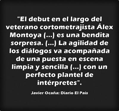 Crítica de Javier Ocaña en el diario EL PAÍS acerca de la peli Asamblea de Álex Montoya