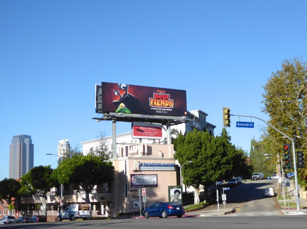 Best Fiends billboard