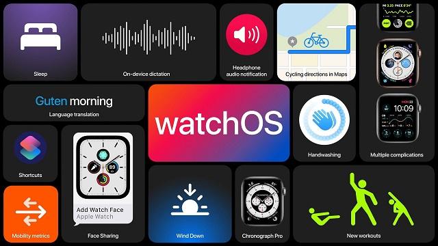 أفضل ميزات نظام watchOS 7