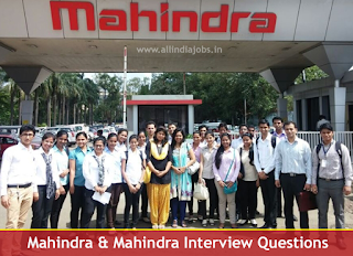 Mahindra & Mahindra Interview Questions