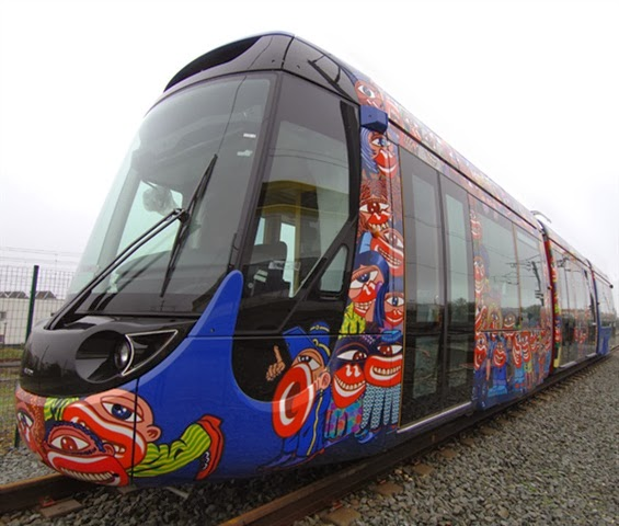 Rebuilding Place In The Urban Space: Hip Design For Tram