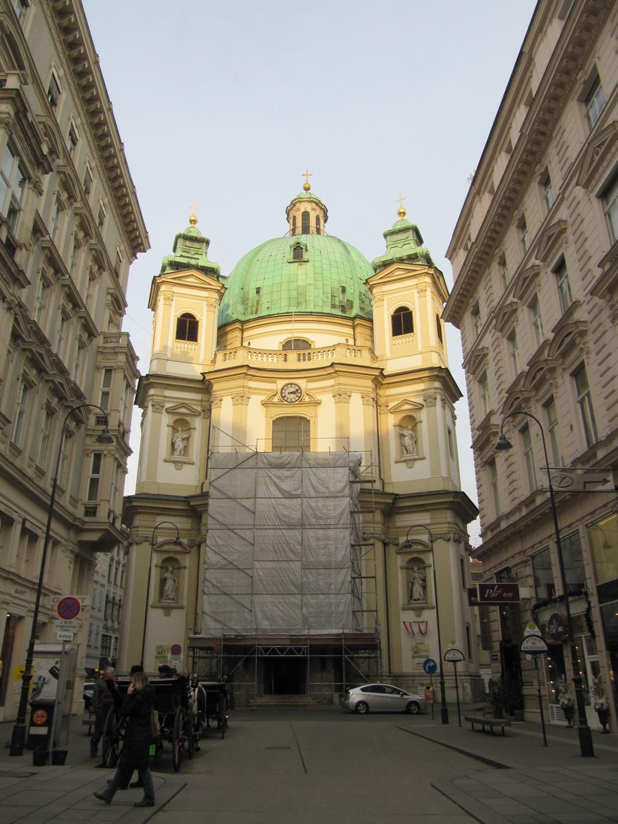 iglesia de San Pedro de Viena, iglesias de Viena