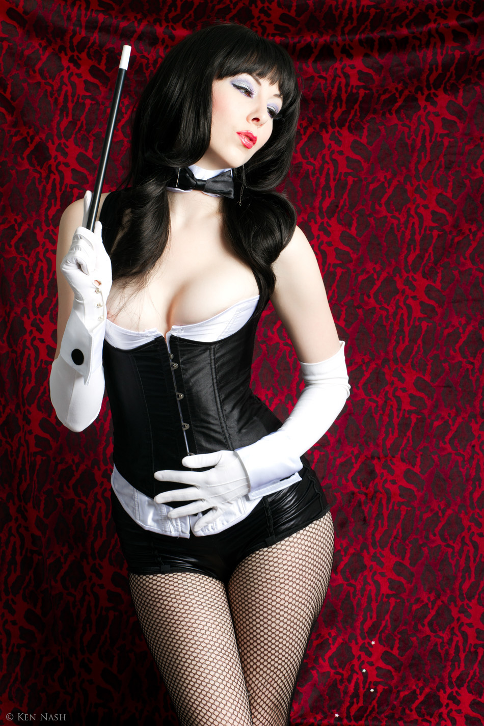 Sexy Superhero Girls Zatanna Cosplay-2052