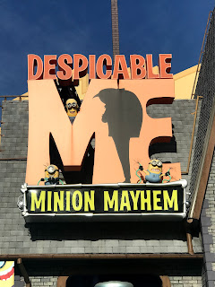 photo of Despicable Me: Minion Mayhem sign