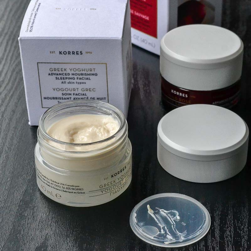Korres Greek Yoghurt Advanced Nourishing Overnight Sleeping Facial Mask - Review