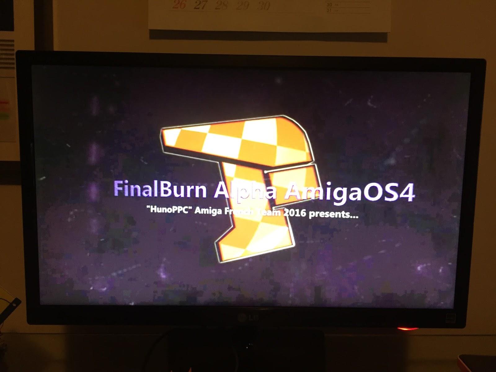 Epsilon's Amiga Blog: FinalBurn Alpha on my X1000
