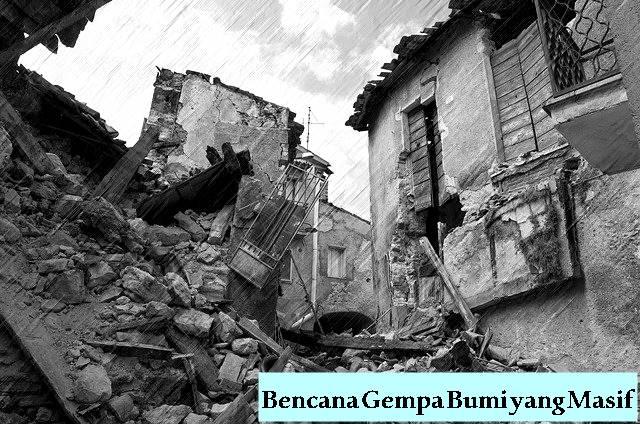 Mengulik Pertanda Kiamat Sugra Bag. 4 Bencana Gempa Bumi yang Masif-