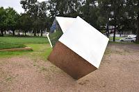 Canberra Public Art   Belconnen Sculpture by Bert Flugelman