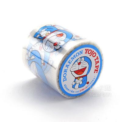 哆啦a夢50周年商品_小叮噹防潑水紙膠帶插圖設計款