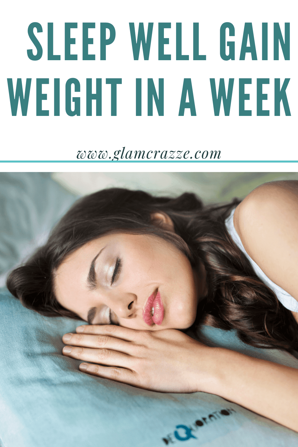 How to gain weight in a week you need to sleep well