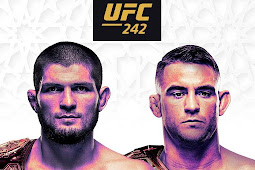 Hasil UFC 242, Khabib Nurmagomedov VS Dustin Poirier Minggu 8 September 2019 di Abu Dabi