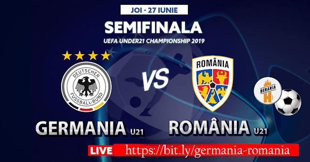 Euro 2019, România – Germania | Tricolorii mici întâlnesc o forță a fotbalului.