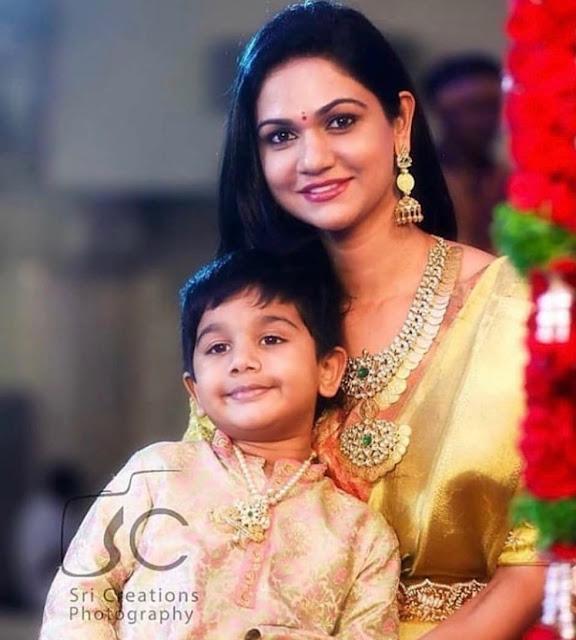 Allu Arjun's Son in Tiger Claw Pendant