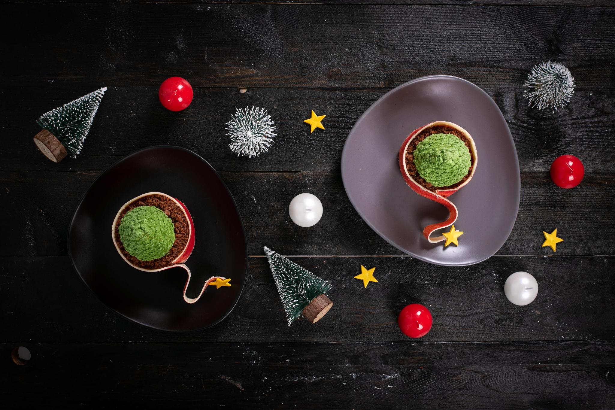 Alberelli di Natale dolci al torrone