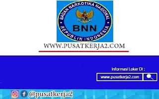 Lowongan Kerja Badan Nasional Narkotika Kabupaten Bangka Belitung Tahun 2020