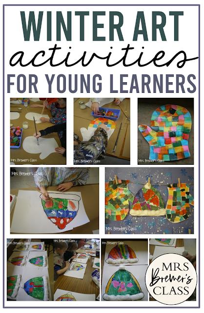 Hat & Mitten Winter Art Activities and Ideas for Kindergarten