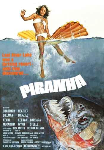 Piranha 1978 480p 300MB BRRip Dual Audio [Hindi - English] MKV