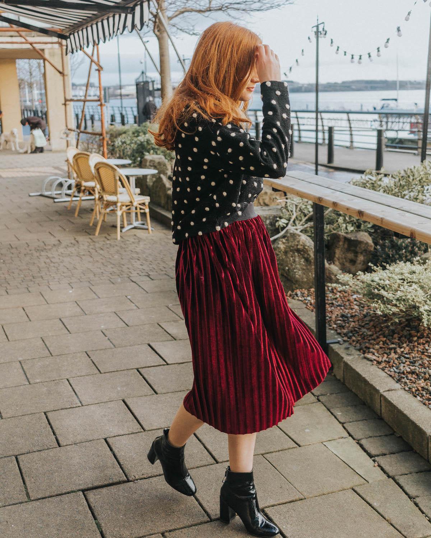 2d45714091 Top: New Look | Skirt: Depop | Shoes: Office | Necklace: Topshop