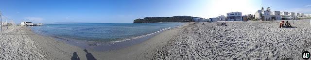 Poetto beach panorama, Cagliari | Sardinia, Italy | wayamaya