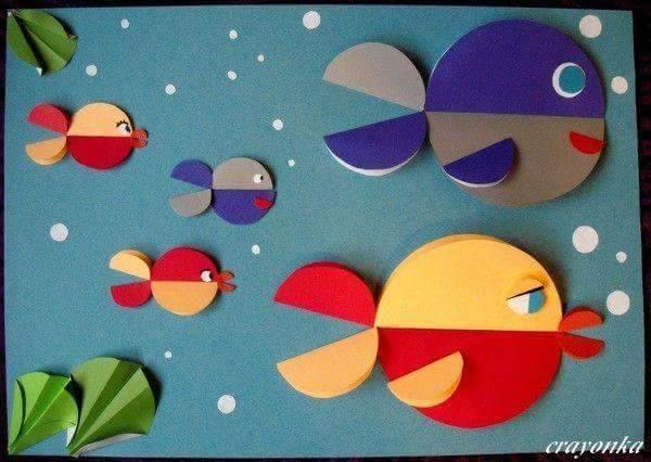 أفكار لعمل أنشطة فنية لأطفال الحضانة 11925994_16058594263