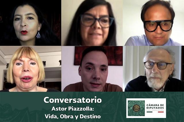 Conmemora la Cámara de Diputados el centenario del músico argentino Astor Piazzolla