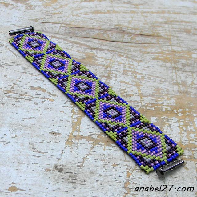 купить браслет из бисера этно стиль украина россия