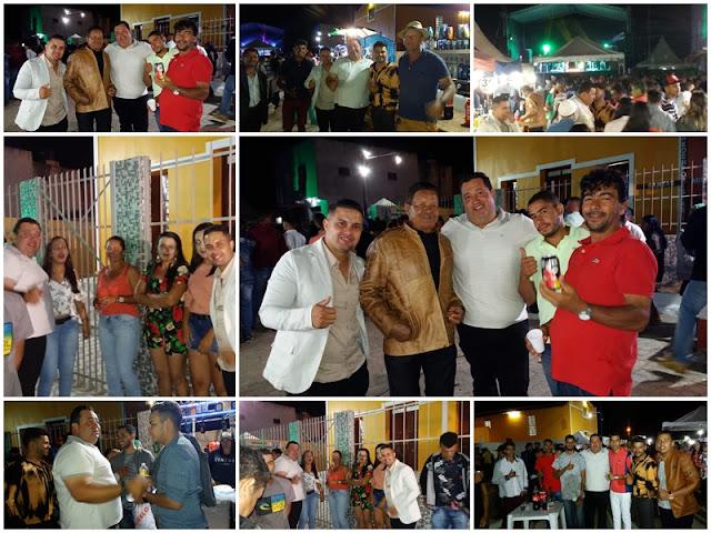 Pré candidato a prefeito de Tupanatinga participa da Tradicional Festa da Padroeira do Povoado Baixa Verde
