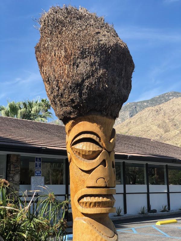 Caliente Tropics Resort Tiki totem