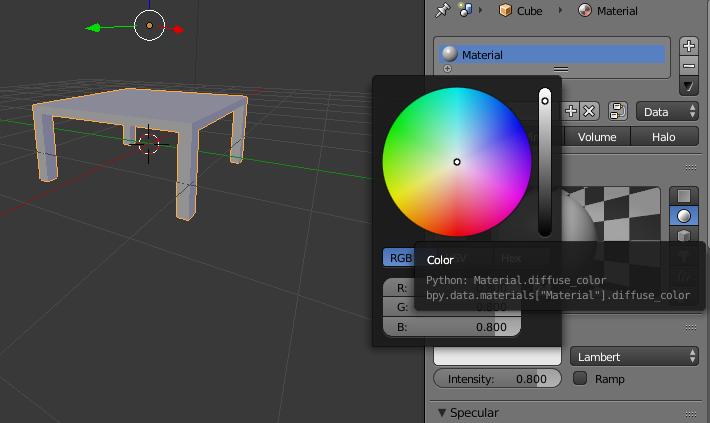 Praktek Membuat Meja Di Software Blender Guru Amp Pendidikan