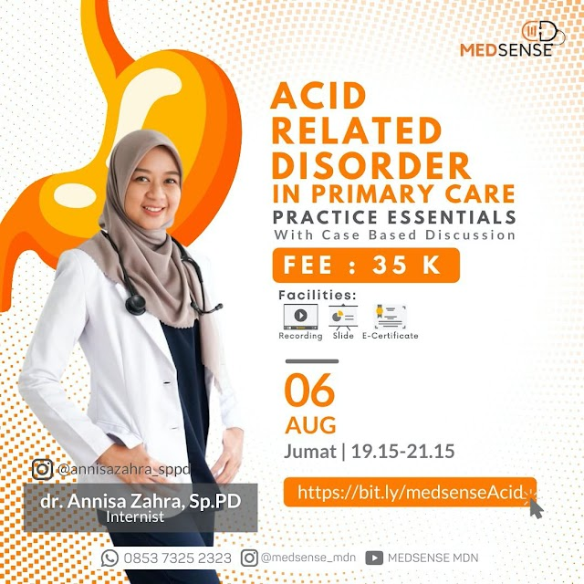 Webinar Acid Related Disorder in Primary Care