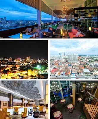 Alto sky lounge hatten hotel view