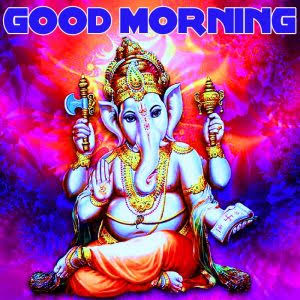 Lord Ganesh Ji Good Morning Images & Wallpapers Good Morning Ganesh Images in Hindi