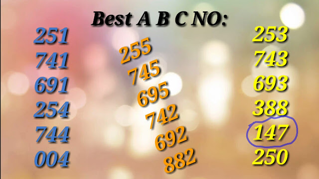 Win Win W-468 lottery abc winning numbers guessing by Vetrinichayam on 09-07-2018