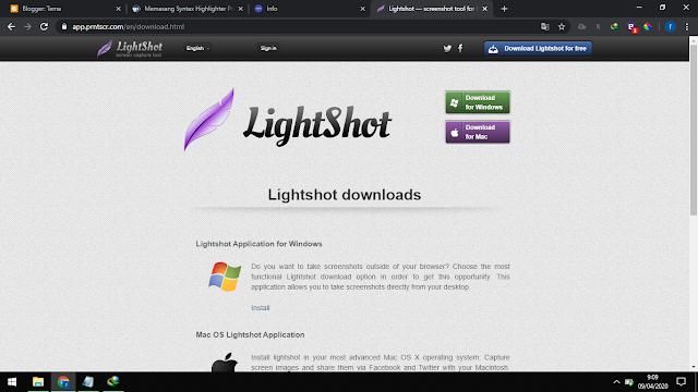 Cara Menginstall dan menggunakan LIGHTSHOOT lengkap