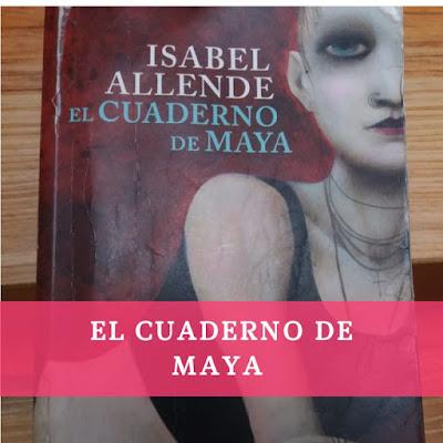 Capa del libro el cuaderno de Maya