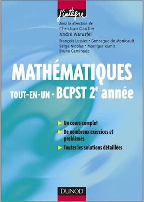 Télécharger Livre Gratuit Cours et exercices corrigés - Mathématiques Tout-en-un BCPST 2e année pdf