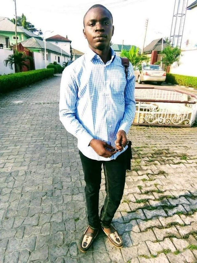 UNIPORT 500-LEVEL STUDENT COMMITS SUICIDE AFTER FINISHING PROJECT