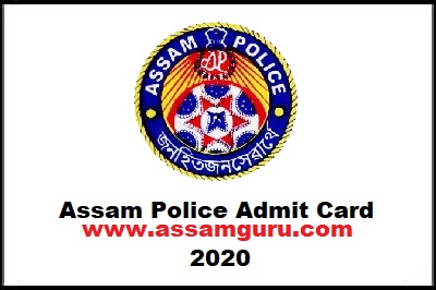 Download Assam Police Admit Card 2020; assam police; police assam; police; admit card for assam police; Armed/Unarmed Branch; AB UB Constable admit card;