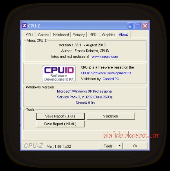 download cpu-z portable   lala fido prasetya