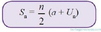 Rumus untuk menghitung jumlah suku deret aritmatika - berbagaireviews.com