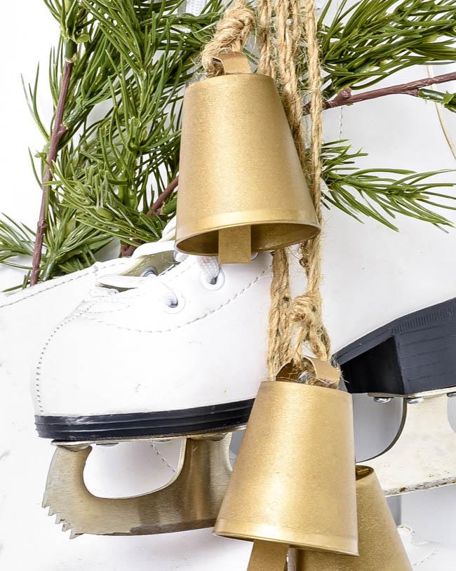 DIY Dollar Tree vintage inspired brass bells