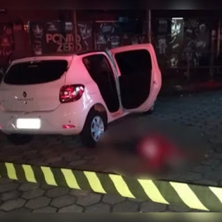 Mulher é assassinada após tentativa de assalto a motorista de aplicativo em João Pessoa